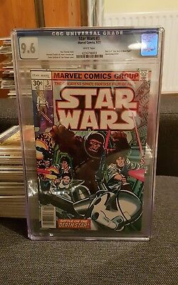Star Wars 3 cgc 9.6 vol 1 1977