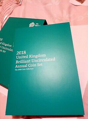 2018 Royal Mint 13 coin Annual set in folder- Brilliant Uncirculated