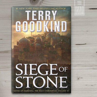 Siege of Stone: Sister of Darkness: The Nicci Chronicles III Terry Goodkind