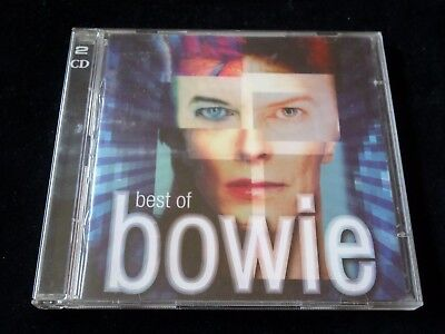 Best Of Bowie 2 Disc Cd - 2002 - Vg Con