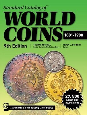 Krause Standard Catalog of World Coins 1801-1900 Catalog New Price List 9th 2019