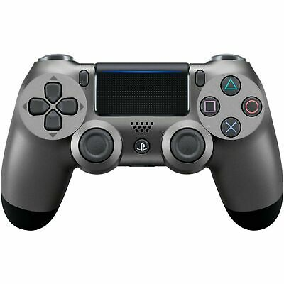 Steel Grey Sony Ps4 Dualshock 4 Wireless Controller - Official V2 - New In Box