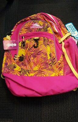 High Sierra Fatboy Backpack Laptop Tablet Pink Paradise Flamingo