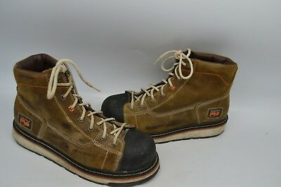 """Timberland PRO A1B4L 6"""" Gridworks Non-Slip Wedge Sole EH SOFT TOE WORK Boot 9.5M"""