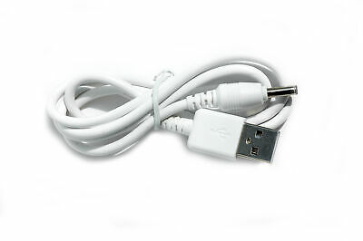 90cm USB Black Charger Power Cable for Vtech VM344 PU Parent Unit Baby Monitor