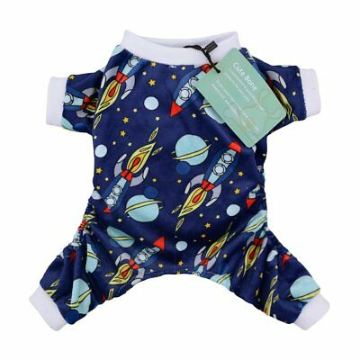 CuteBone Dog Rocket Pajamas Jumpsuit Pet Clothes Pajamas - XL