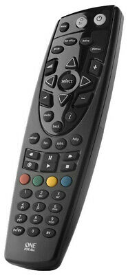 One For All Replacement FOXTEL IQ, IQ2 & 3 Remote Control URC1669-002 TV & STB