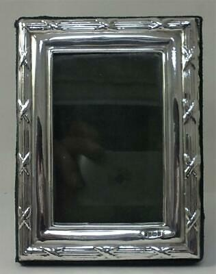 Vintage hallmarked Sterling Silver Fronted Photo Frame (11cm x 8.5cm)  – 1997