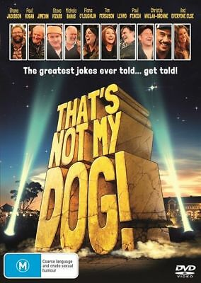 That's Not My Dog! Dvd, New & Sealed, 2018 Release, Region 4. Free Post