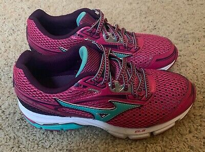 f146a5be354d Mizuno Wave Legend 3 Women's Running Athletic Shoes Size 7W Pink/Blue/Purple