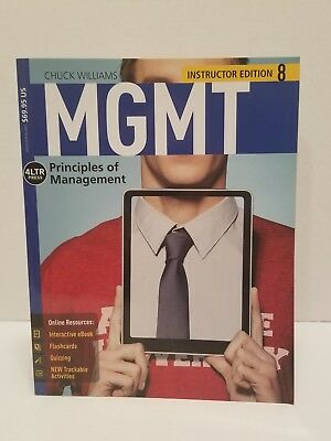 MGMT PRINCIPLES OF Management 9 Student Edition 2017 ISBN
