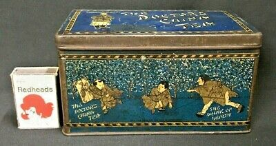 "C.1905 Special Caddy Litho ""The Doctor's China Tea"" Tin Harden & Lindsay London."