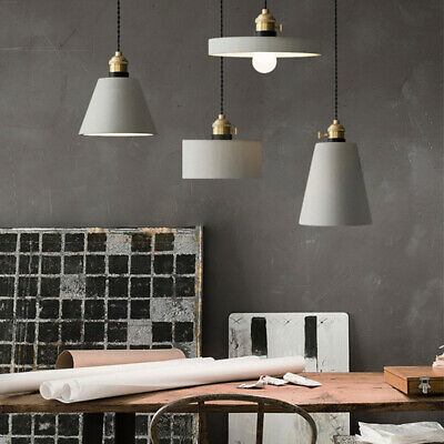 Modern Industrial Ceiling Light Pendant Lamp Fixture Chandeliers Hanging Shade