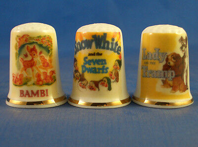 Birchcroft Thimbles Set of Three Motor Posters Drive Ins
