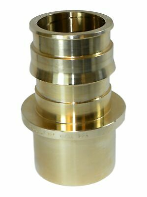 "Uponor LF4502020 ProPEX LF Brass Fitting Adapter, 2"" PEX x 2"" Copper"