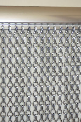 Krisca Aluminium Chain Insect Fly Screen Curtain Door / Window