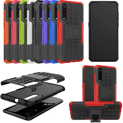For Xiaomi Mi 9 Rugged Hybrid Armor Shockproof Protective Hard Case Stand Cover