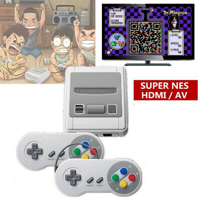 HDMI/AV Retro Mini TV Game 8 Bit Console Classic Built-in 621 Games Controller