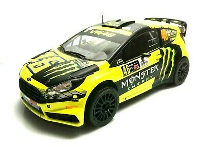 Ixo Models 1/18 Ford Fiesta Rs Wrc Valentino Rossi Cassina Rally Monza Monster