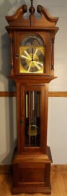 Grandfather Clock-Exc Cond/Hermle TripleChimes/NATIONWIDE PERSONAL DELIVERIES