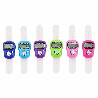 Latest Mini 5 Digit LCD Electronic Digital Finger Hand Held Ring Tally Counter