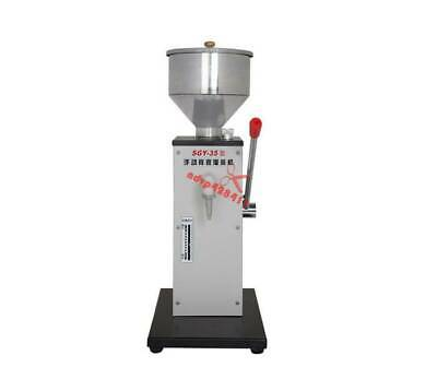 Manual Stainless Liquid & Paste Filling Machine Creams Dispensing Packaging