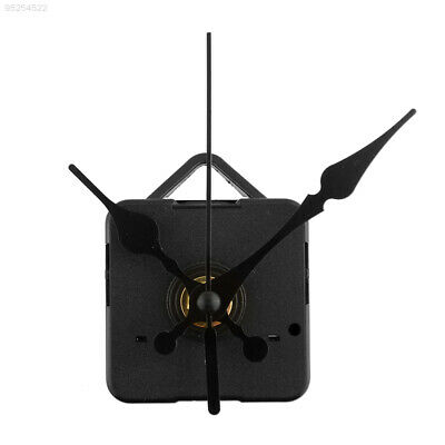 34CD Short Black Hands Quartz DIY Clock Movement Parts With Hook Home Decor Gift