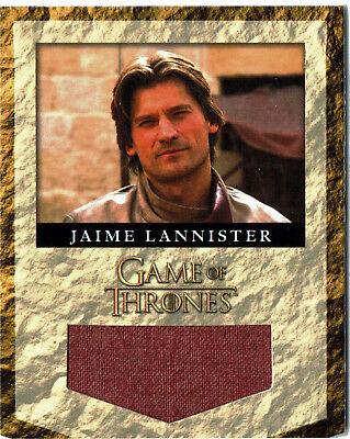 Game Of Thrones Season 2 Banner Material House Lannister Relic Card RL4 #247/325