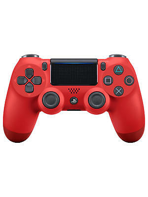 Brand New Sony PS4 DUALSHOCK 4 Wireless Controller Magma Red Playstation 4 UK