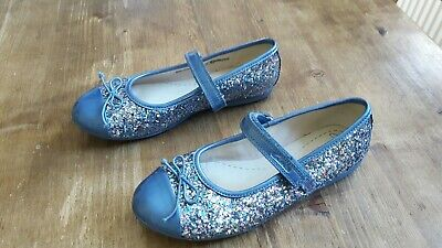58b84c3178f Clarks Girls sparkly Party Shoes 12.5 F . Only worn once