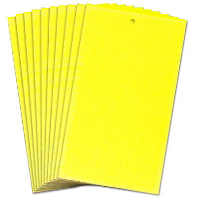 10PC Large Sticky Insect Yellow Catch Flying Greenhouse Pest Traps Pests Control