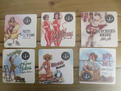 6 different CRAFTY BAVARIAN Micro Brewery,Sydney Beer COASTERS series ONE