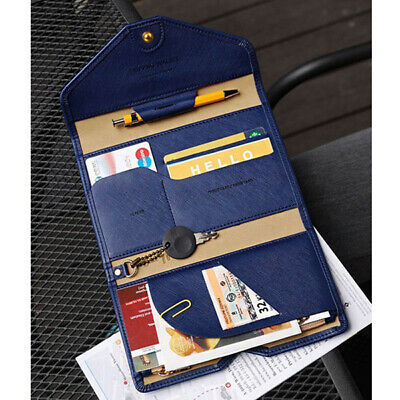 1PC Travel Passport Cover Foldable Credit Card Holder Money Wallet ID Documents