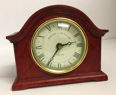 Roger Lascelle Small Edwardian Style  Table/shelf/bedside/mantel/study Clock