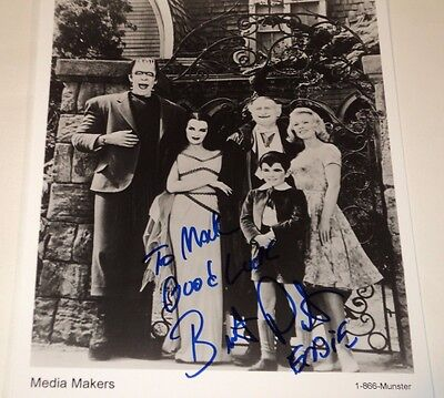 Butch Patrick / The Munsters /  8 X 10  B&W  Autographed  Photo