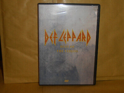 """Def Leppard """"Best Of The Videos"""" Dvd Come Nuovo Like New!"""