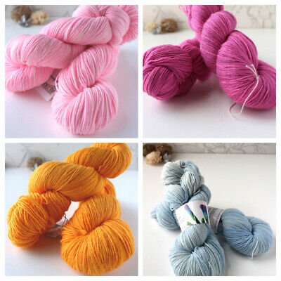 Indie Hand-dyed Yarn, Fingering Weight Yarn, Sock Yarn, Assorted Colours