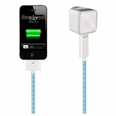 Dexim DCA256 Visible Green Smart Charger for iPod / iPhone / iPad