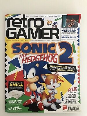 Retro Gamer Sonic The Hedgehog 2 Magazine Issue 175 Includes 2018 Calender