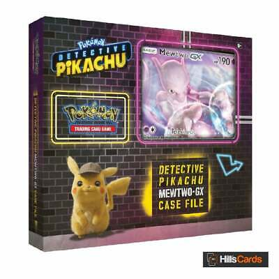 Pokemon Detective Pikachu Mewtwo GX Case File - Trading Card Game Booster Packs