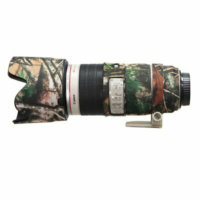 For Canon 70-200mm f2.8 L IS II Neoprene Lens Protection Coat Cover Camouflage