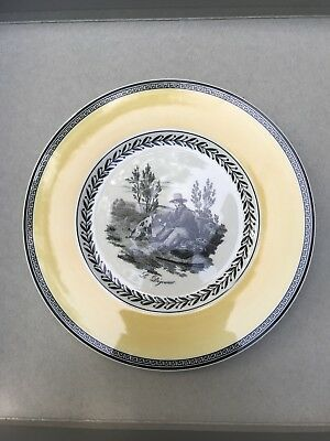 NEW WITH TAGS NWT Villeroy & Boch Audun Chasse Salad Plate 8.5""