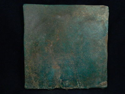 Ancient Large Size Glazed Tile Islamic 1100 AD  #PT220