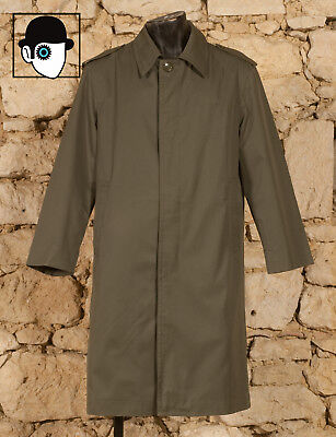 French Military Surplus Raincoat - Uk/Us 40/42 - Medium / Small Large - (Q)