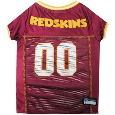 Pets First Officially Licensed NFL Washington Redskins Dog Jersey - Medium