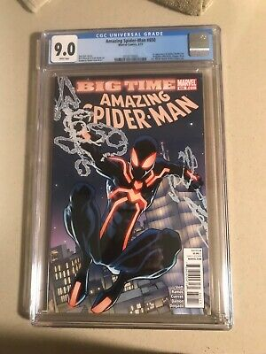 Amazing Spider-man #650, VF/NM CGC 9.0, 1st Appearance Stealth Spider Suit