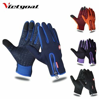 Men MTB Cycling Bicycle Bike Motorcycle Glove Offroad Full Finger Gloves GH