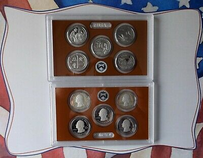2019 S United States Mint Quarter Proof Set 5 Coin Set - Quarter Proof Set Only