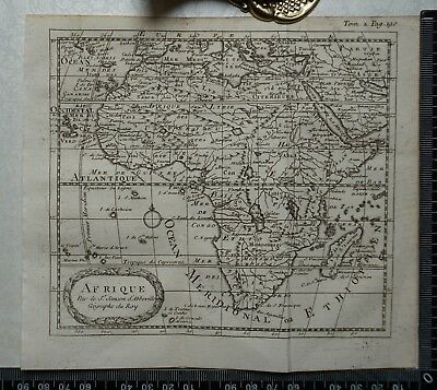 1767 – Africa / Afrique Map by Sanson