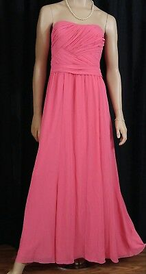 Ralph Lauren LONG CORAL Women's DRESS Elegant FORMAL GOWN Event Wedding sz 12
